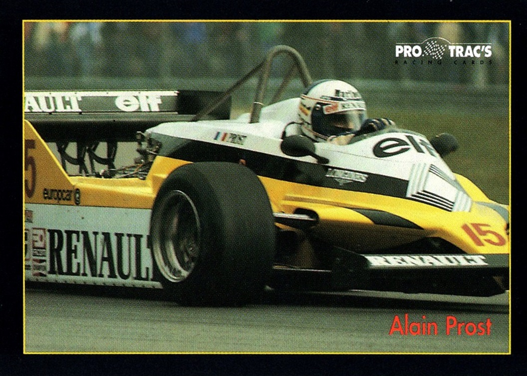 1991 Pro Trac's Formula 1 #109 (1)