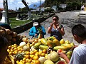 Buying Fresh Fruit off a pickup truck in Antigua.  Yes, you can sample before you buy ;-)