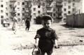 Дом на улице Антоновской в Минске, весна 1964 г.