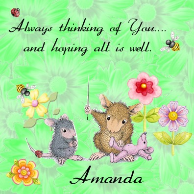 Amanda   Sew thinking of you
