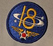 18th Air Corp Patch.