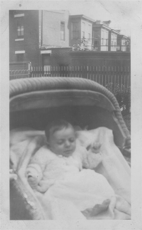 Herman Erwin Schempp as a child  Herman at 5 weeks