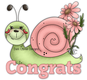 dcd-Congrats-Happy Snail