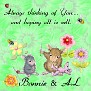 Bonnie & AL   Sew thinking of you