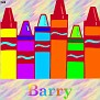 Crayons at schoolBarry