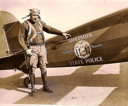 NY- New York State Police 1930s Aeronautics Branch