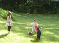 SpiderMan plays football - June 24, 2007