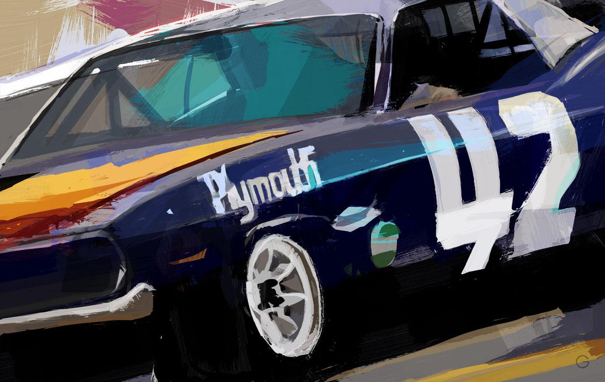doug-garrison-auto-racing-art-swede-savage-42