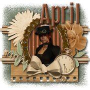 Through Time - April